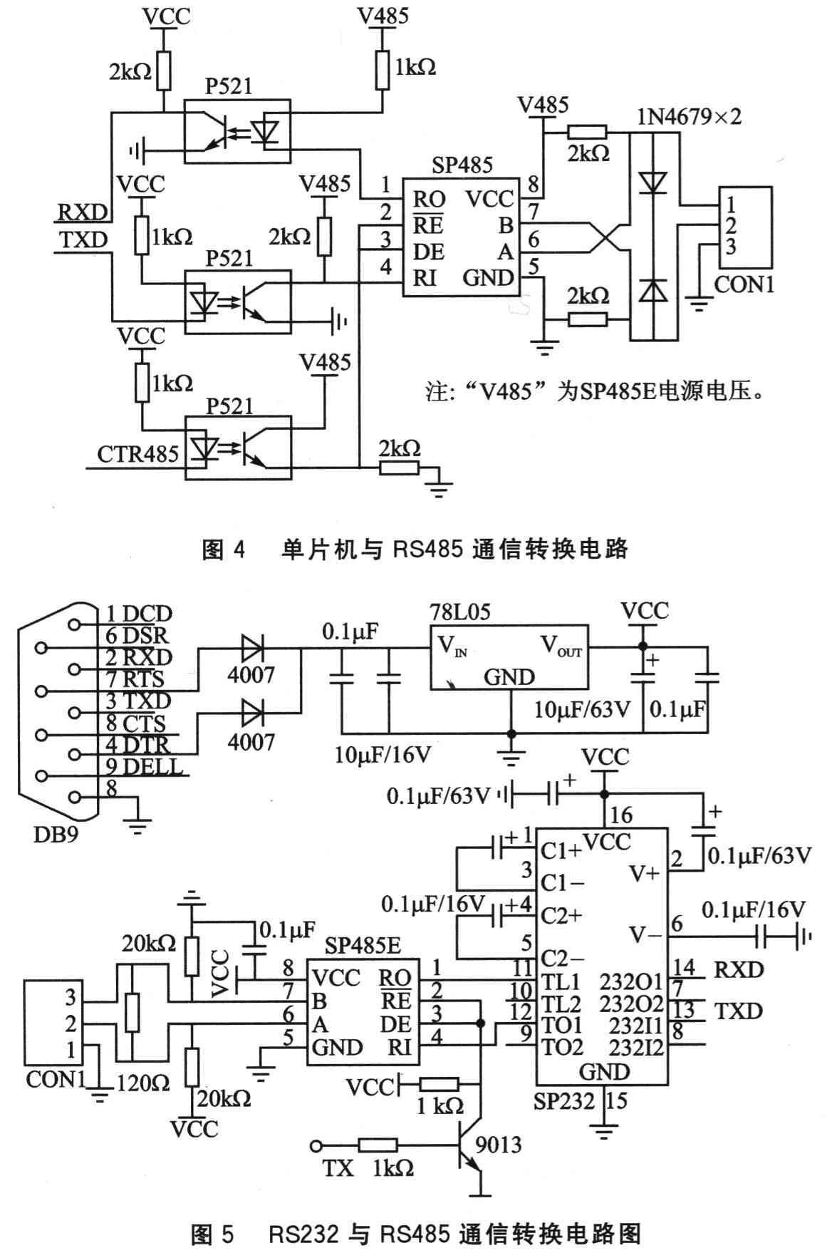 2.3 单片机控制AD9852电路   如图2所示,单片机P1.O~P1.7,通过复用与AD9852数据、地址引脚相连,P2.3~P2.7与AD9852五个较重要的控制引脚相连接。单片机主要是通过向DDS输出幅度字、频率字来控制AD9852产生的正弦波的频率和幅度。