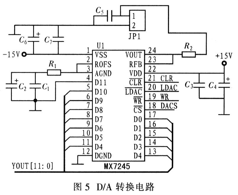 设计应用 其他 一种fir数字滤波器设计与仿真        d/a转换电路可将
