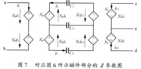 集成输入滤波电感和倍流电感的推挽正激变换器研究
