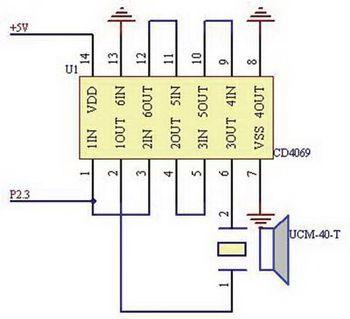 本系统利用msp430f2274单片机的定时器功能来产生稳定的pwm(40hz)脉冲