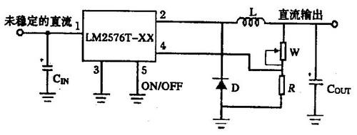 一种单片式开关稳压器lm2576-adj的设计和实现