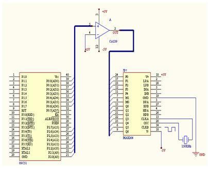 max264设计程控滤波器的设计应用
