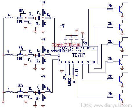 tc787在六相可控整流电路中的应用; tc787在六相可控整流电路中的应用