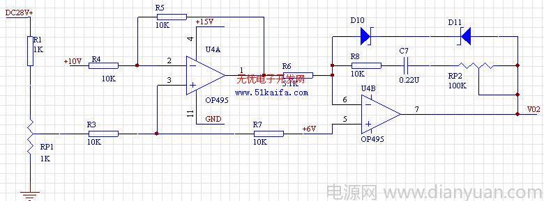 tc787在六相可控整流电路中的应用     tc787的引脚4为移相控制电压