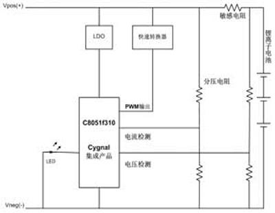 电池转换开关接线图