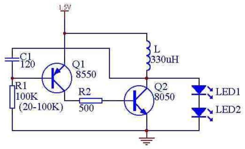 led电筒充电器电路图片 led电筒充电器电路,led充电电筒电路高清图片