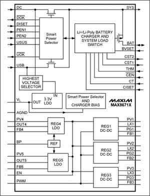 分立dc-dc降压电路图