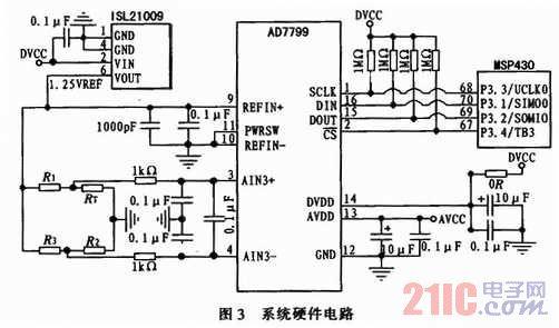 测温电桥中的3个电阻与热敏电阻rt构成一个单臂电桥,热敏电阻rt随温度