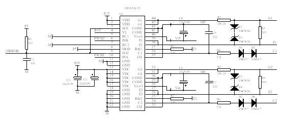 2sd315模块在igbt驱动保护电路中的应用