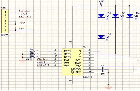 图8:dm413典型应用原理图