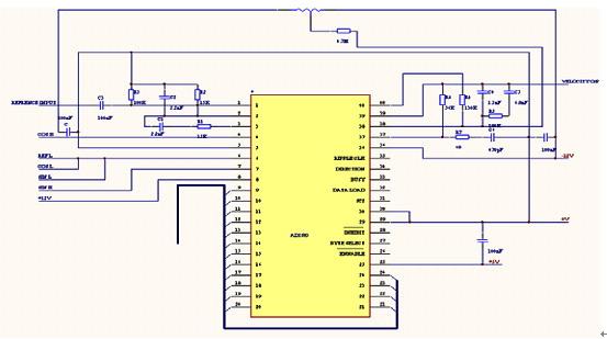 助力转向系统中的设计与应用          在具体实现该电路时应注意十vs