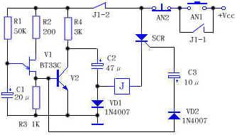 低电压下继电器工作电路