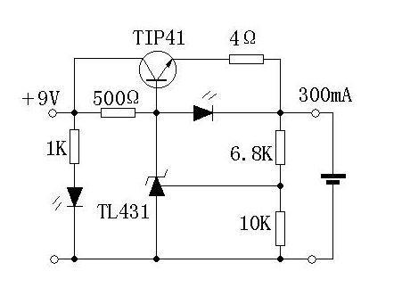 【图】简单实用的锂电充电器电路电源电路
