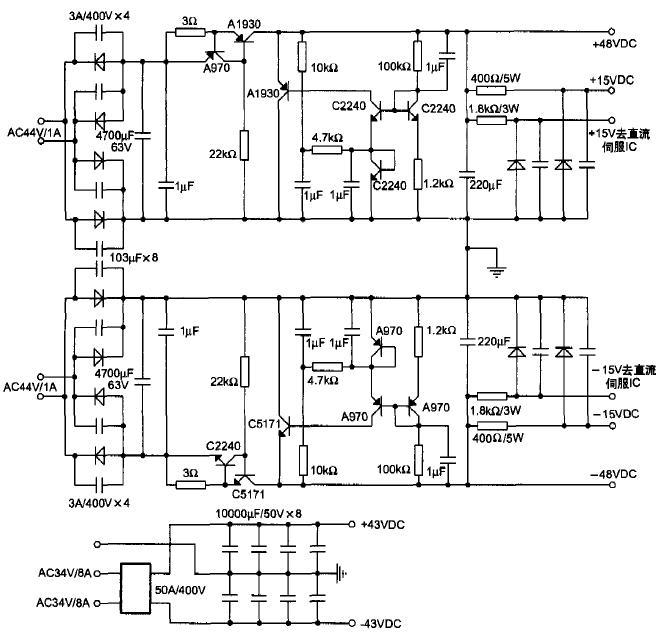 简单平衡的功放电路2