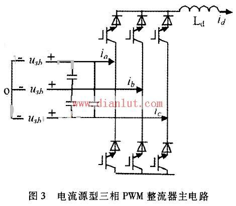 简单电流源型三相pwm整流电路设计