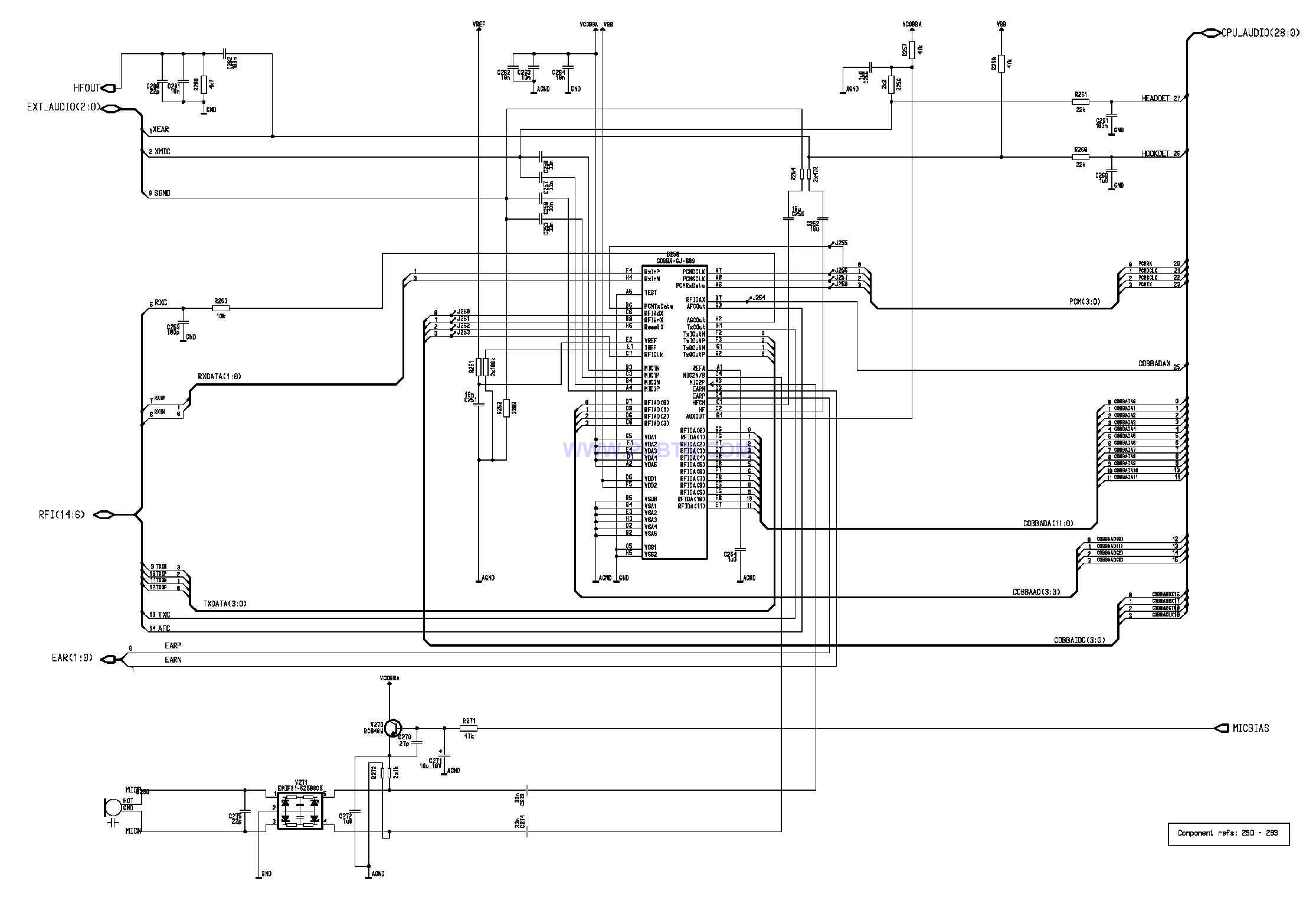 诺基亚9110电路设计  21