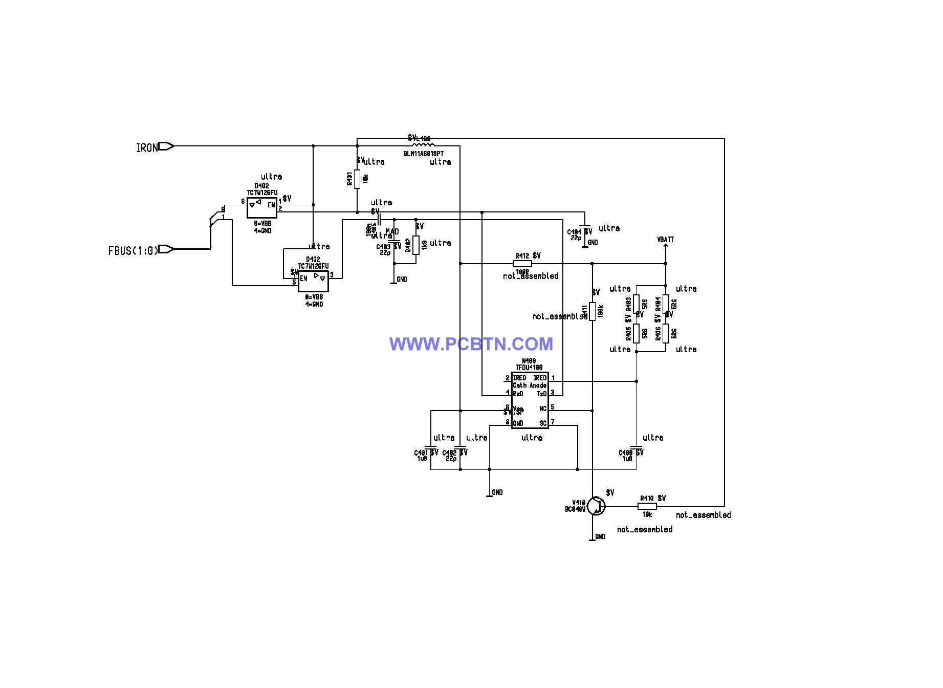 诺基亚6110电路图设计[_]07