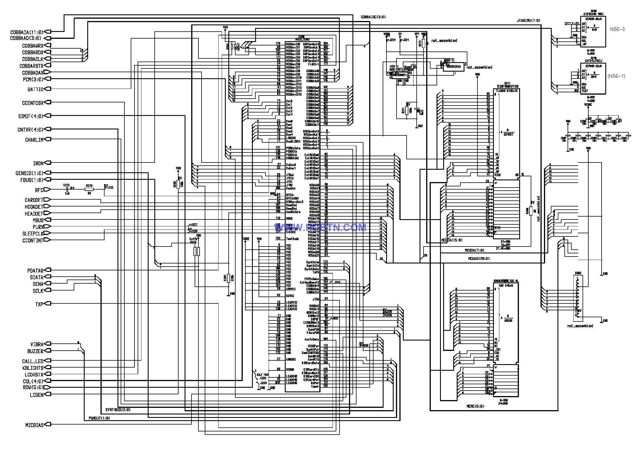 诺基亚6110电路图设计[_]05