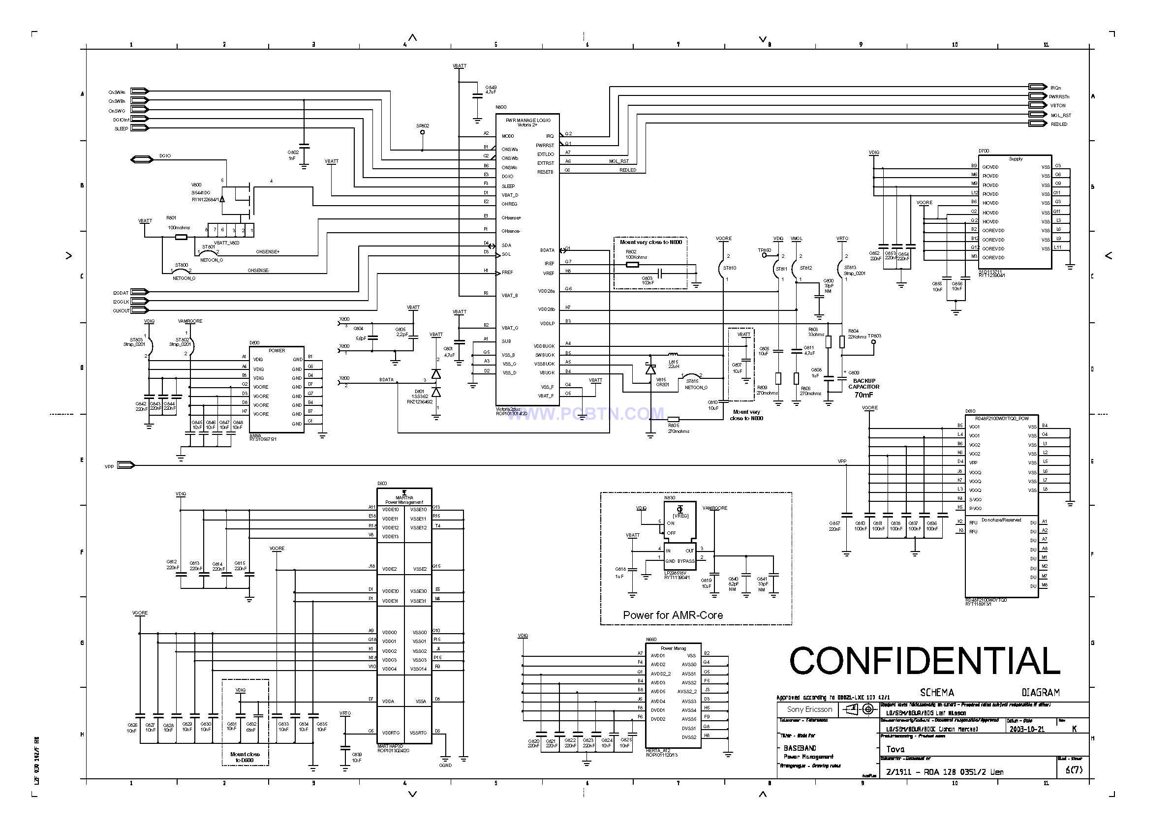 索爱T618元件原理线路图5[_]6