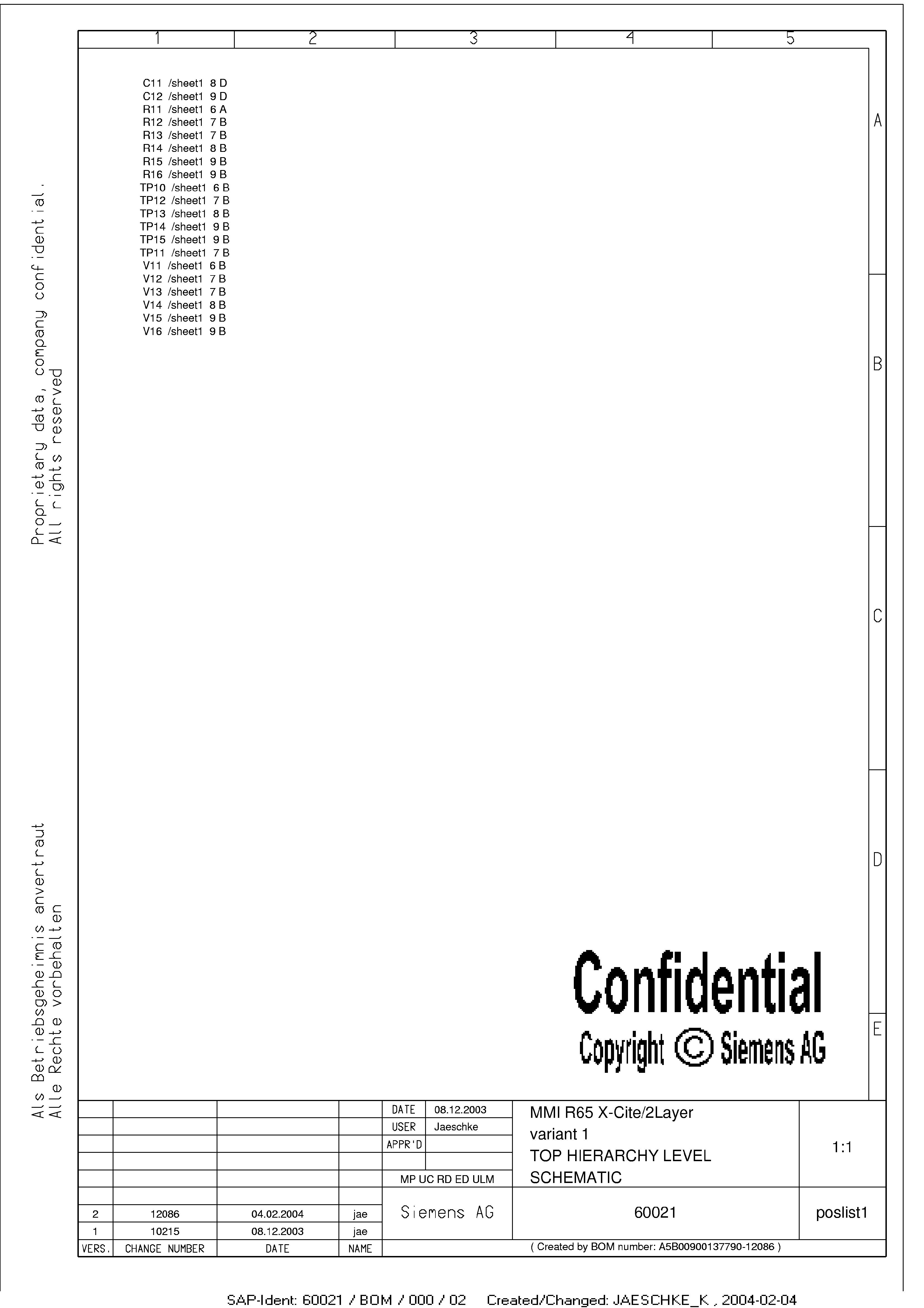 西门子M65电路图设计[_]22