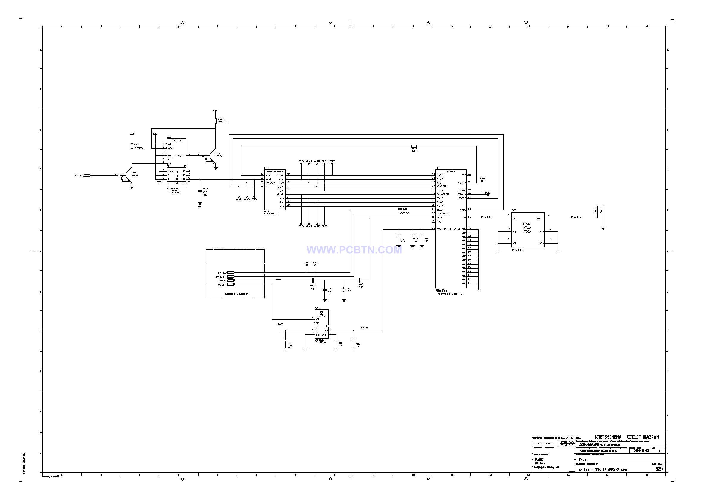 索爱T618原理线路元件图设计4[_]5