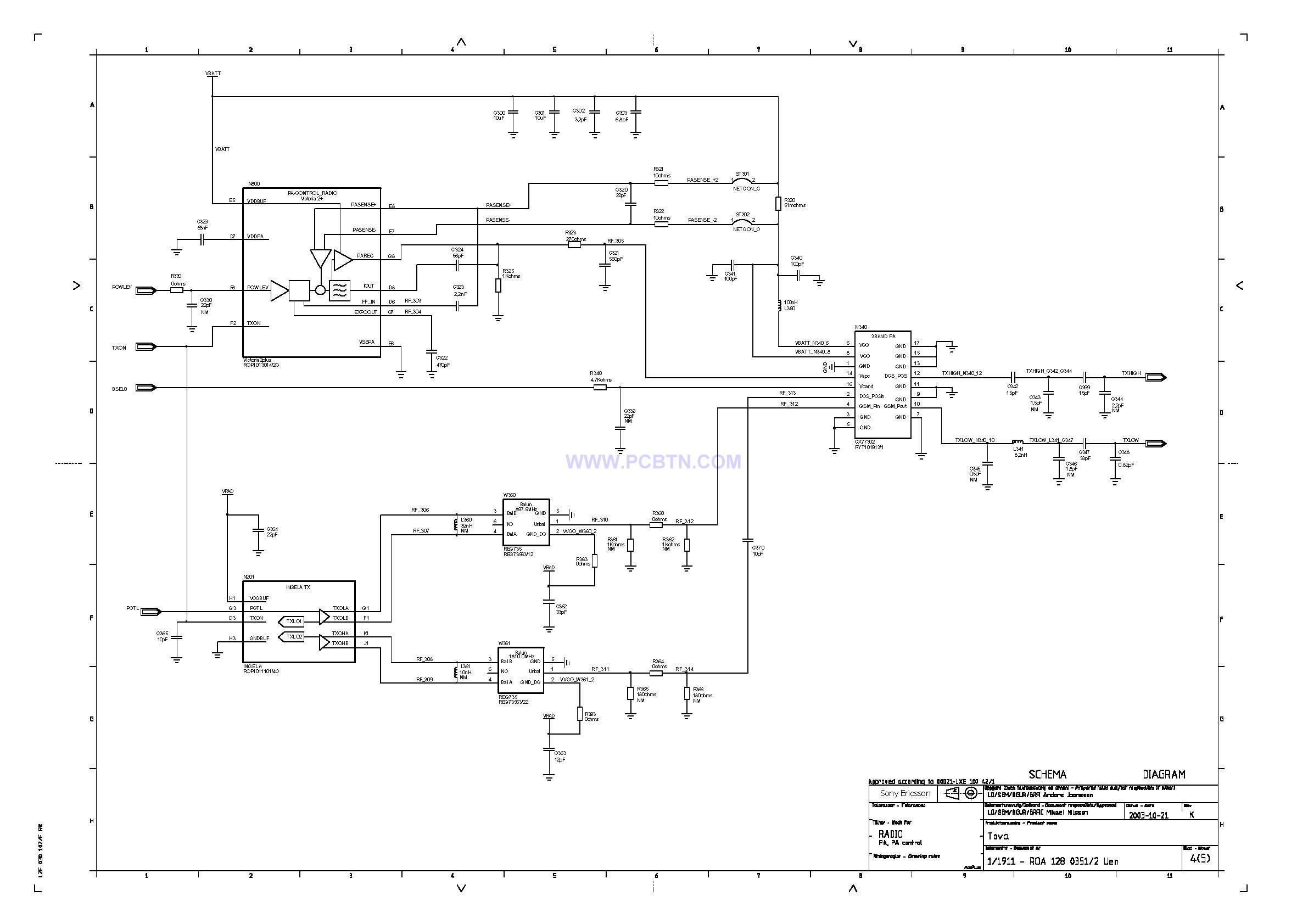 索爱T618线路图元件图设计4[_]4