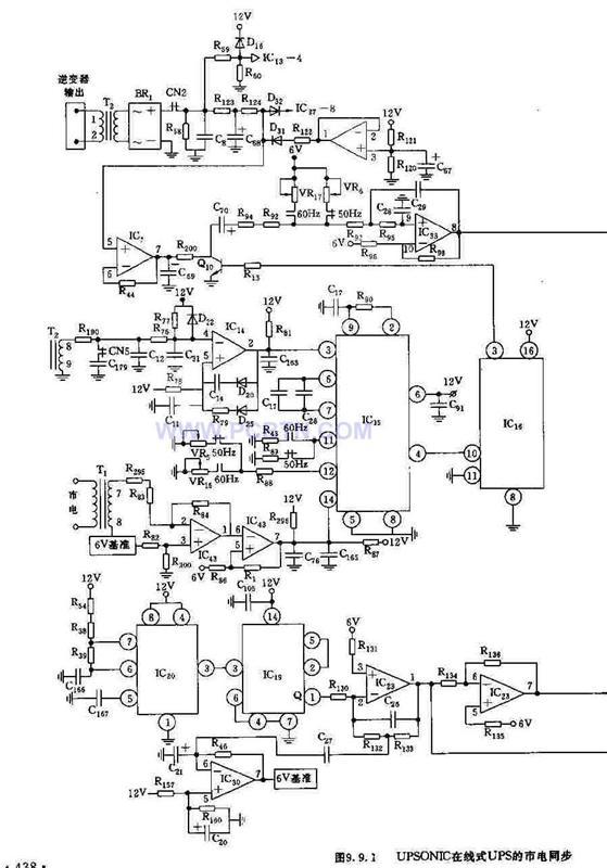 【图】upsonic在线式ups电源电源电路 电路图 捷配