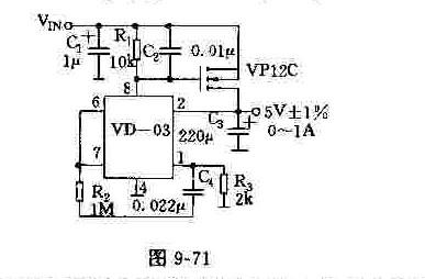 电流扩展为1a的电路