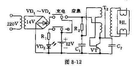 【图】应急灯典型应用电路电源电路