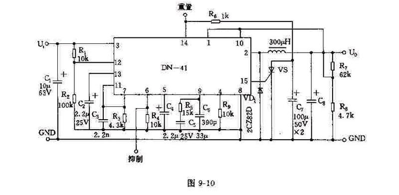 DN-41的应用电路及其原理