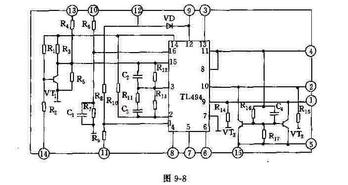 NK02的电路框图及其电路原理