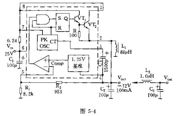 极性反转应用电路