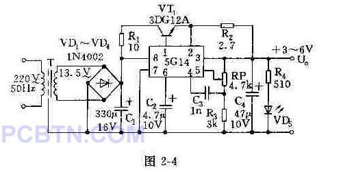 【图】可调稳压电源结构框图及其工作原理电源电路
