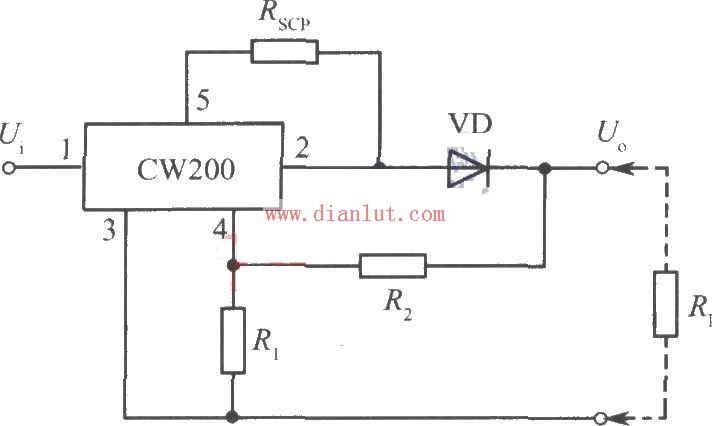 基于CW200的充电器电路