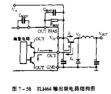 tl1464输出级电路介绍
