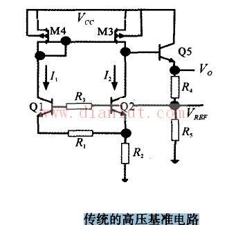 高压基准电路图及其工作原理