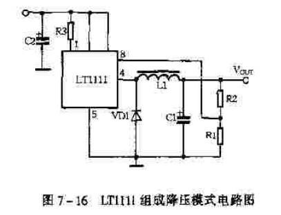 【图】利用lt1111构成的升降压模式电源电路 电路图