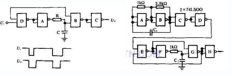 基于单稳电路的驱动信号发生器