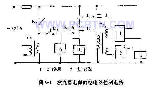 【图】单路激光器电源中继电器控制电路电源电路