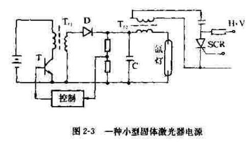小型固体激光器电源