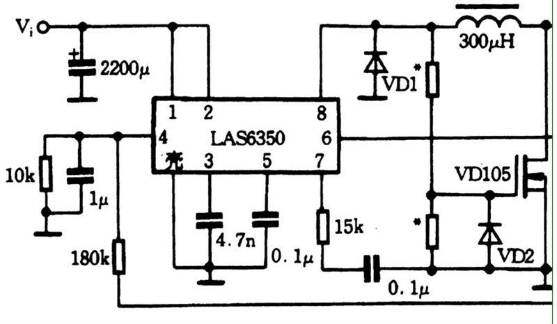 高耐压PWM三端开关电源电路图及其解析