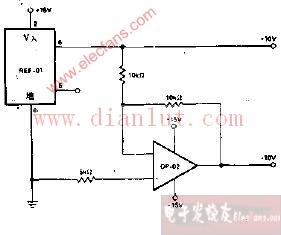 ±10V基准电压源电路介绍