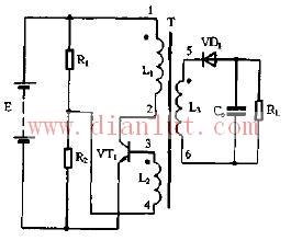 常用的自激单管逆变电路图