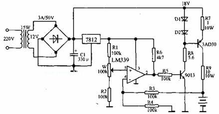 【图】无触点自动充电器电源电路