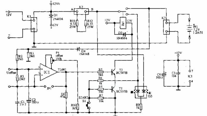 电压峰值增量型自动充电器