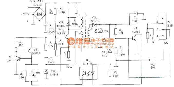 SPN4096A充电器