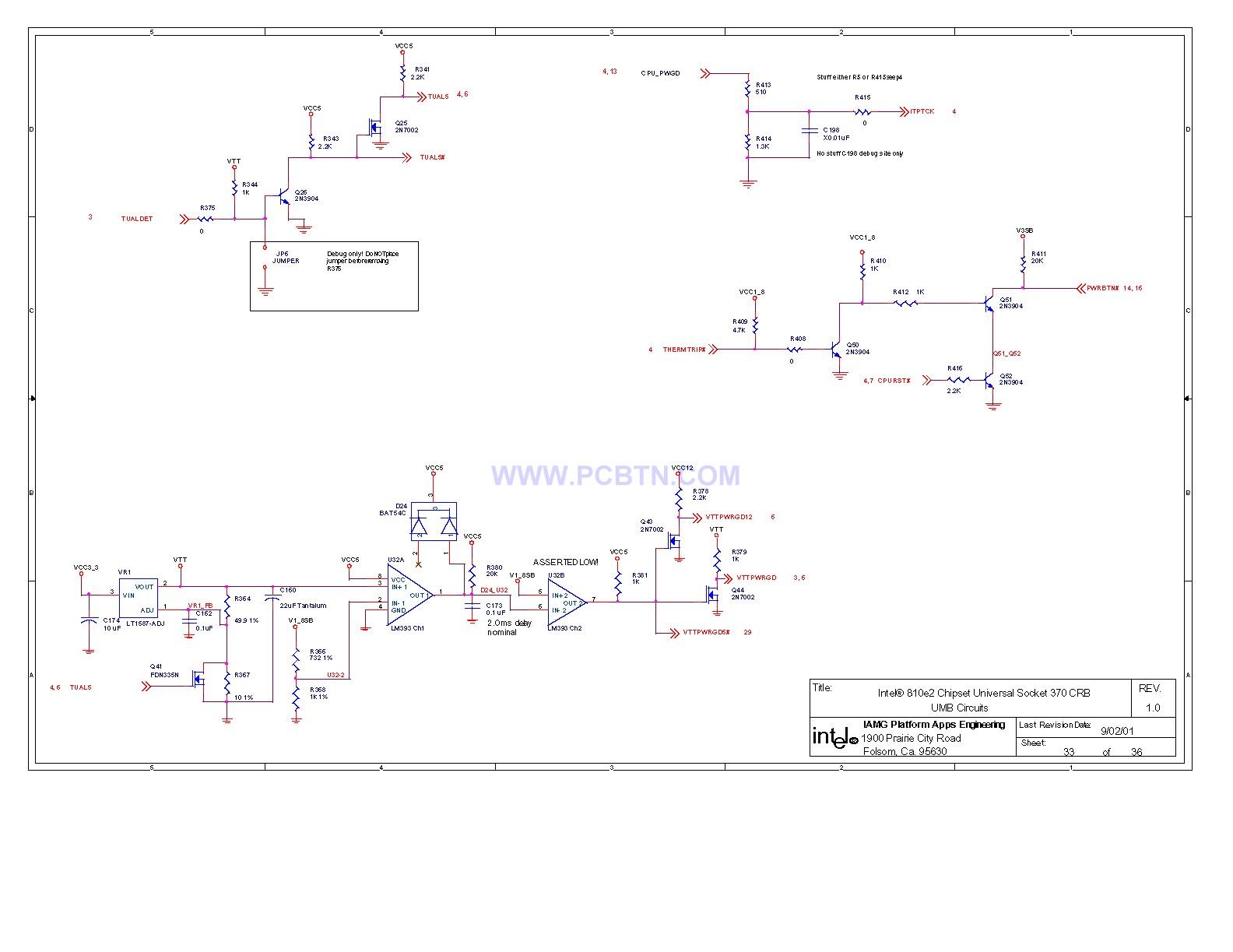 810电脑主板电路图设计[_]33