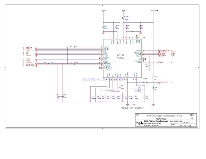 电脑主板电路图810