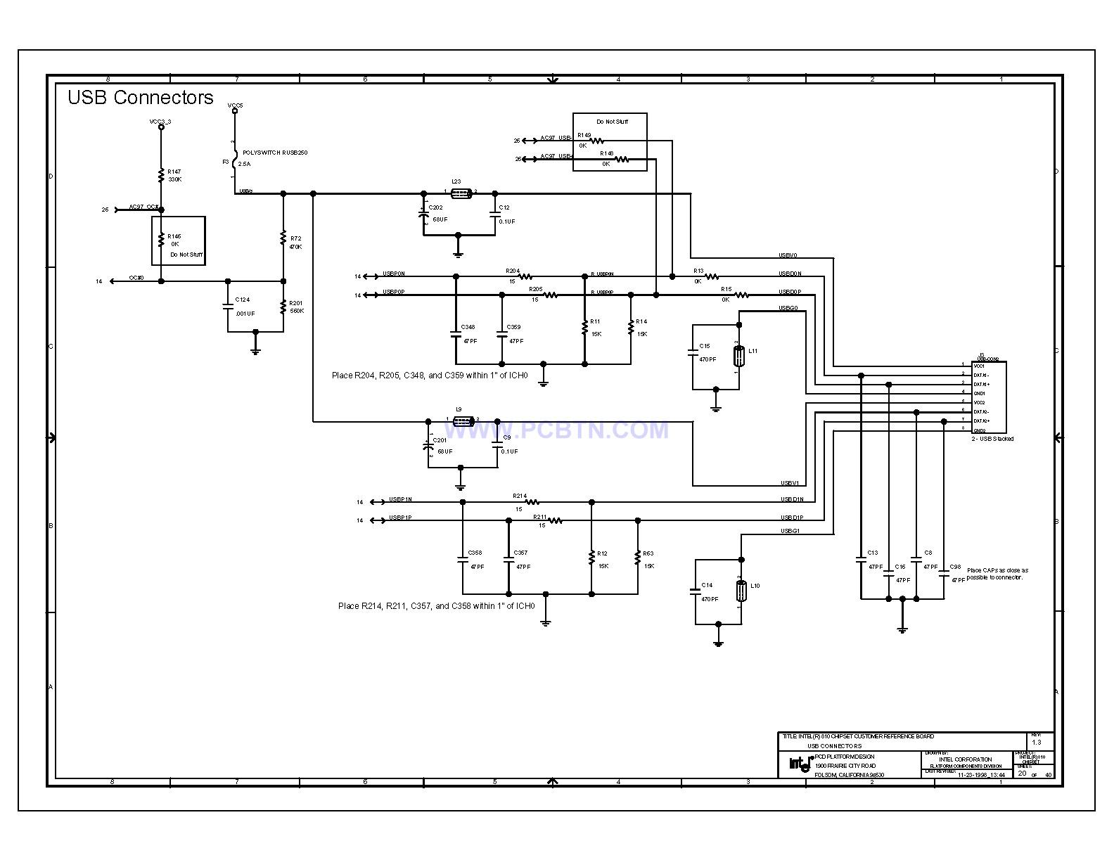 【图】810电脑主板电路图1[_]20微机单片机 电路图 捷