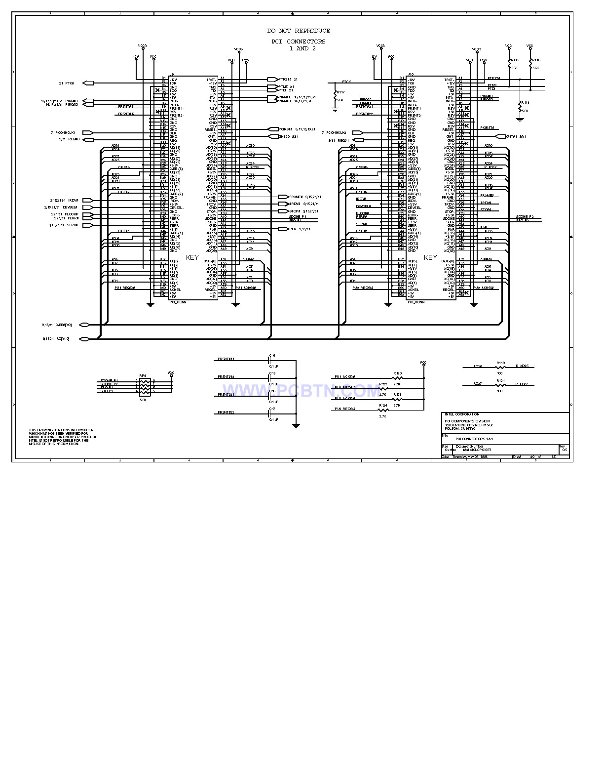 电脑主板设计图440LX[_]20
